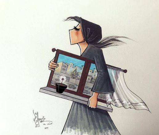 Η ζωγράφος Shamsia Hassani, η οποία δίδαξε στο Πανεπιστήμιο της Καμπούλ, θεωρείται η πρώτη καλλιτέχνις δρόμου (street artist) του Αφγανιστάν.