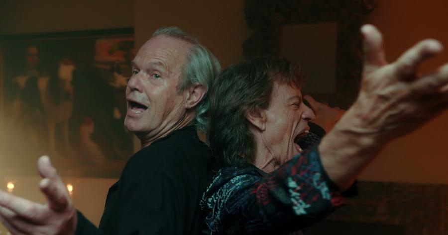 Τζάγκερ: Τα αδέρφια Κρις και Μικ μαζί στο μουσικό βίντεο του «Anyone Seen My Heart?»