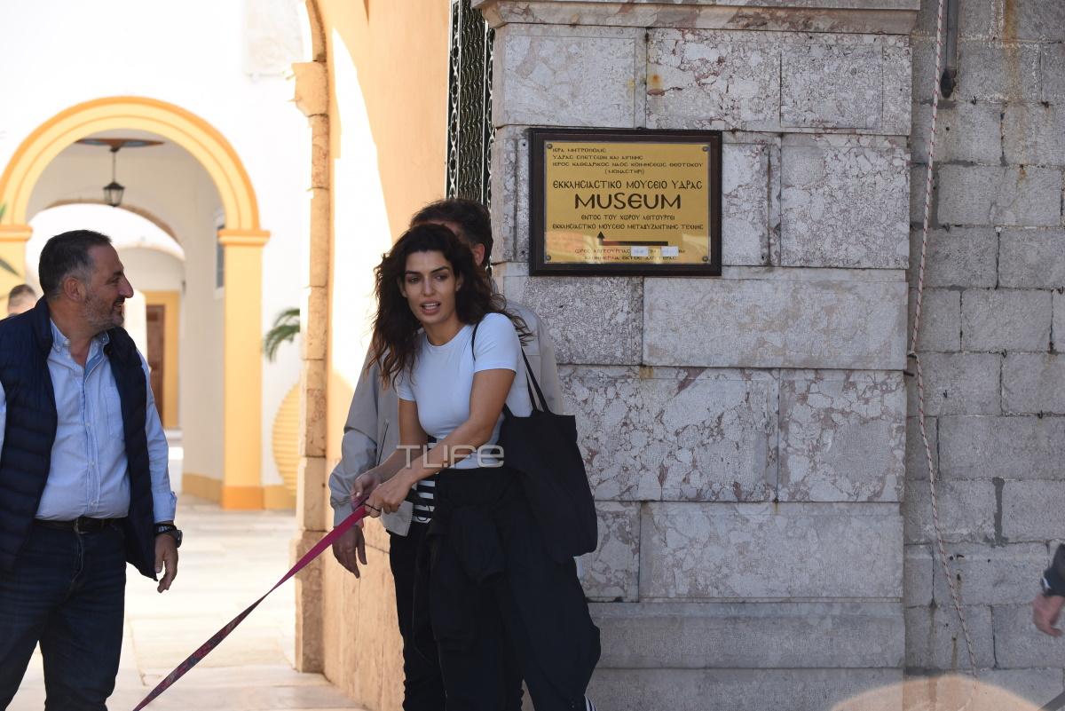 Τόνια Σωτηροπούλου και Κωστής Μαραβέγιας μετά τον γάμο