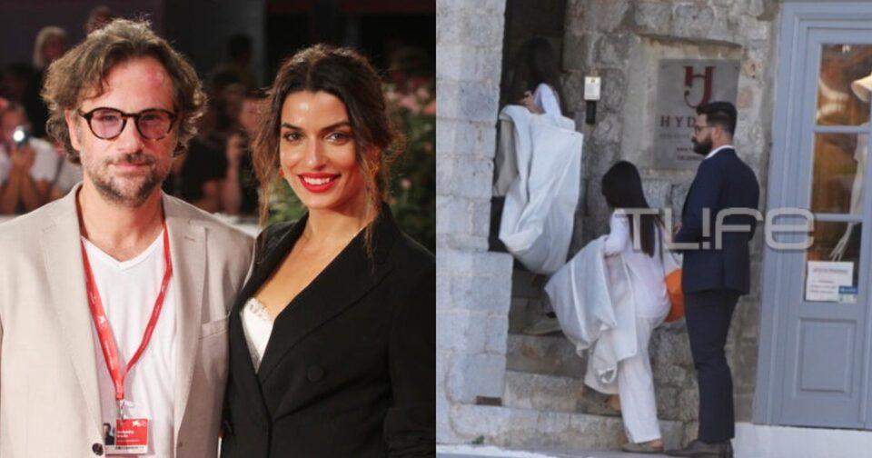 Τόνια Σωτηροπούλου και Κωστής Μαραβέγιας γάμος