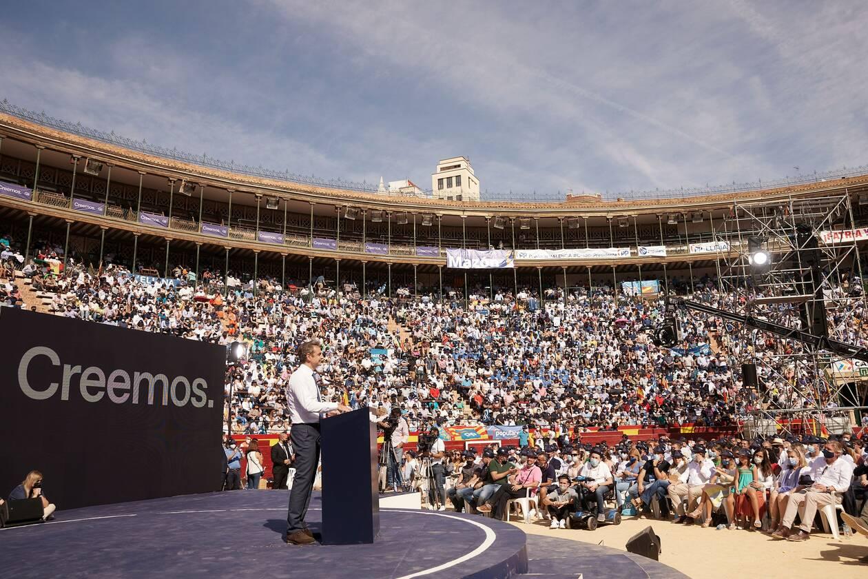 Ο Κυριάκος Μητσοτάκης στην Ισπανία