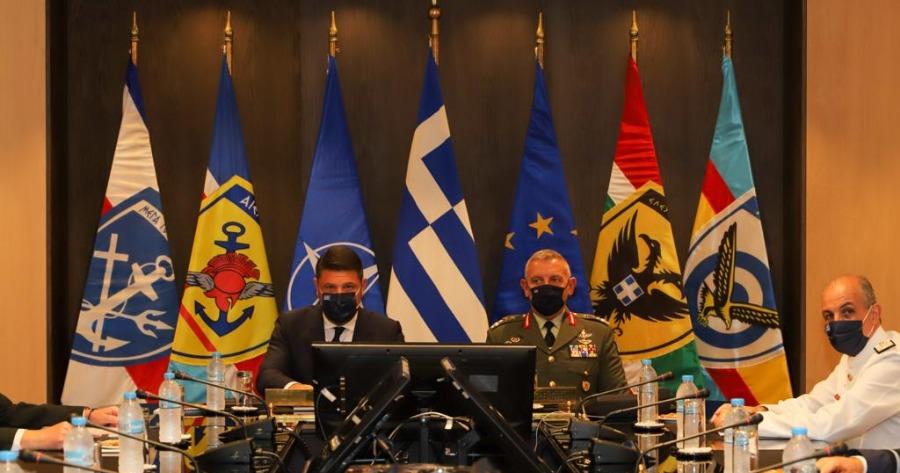 Χαρδαλιάς: Απόλυτη ετοιμότητα συνδρομής των Ενόπλων Δυνάμεων στο υπουργείο Κλιματικής Κρίσης και Πολιτικής Προστασίας για την κακοκαιρία