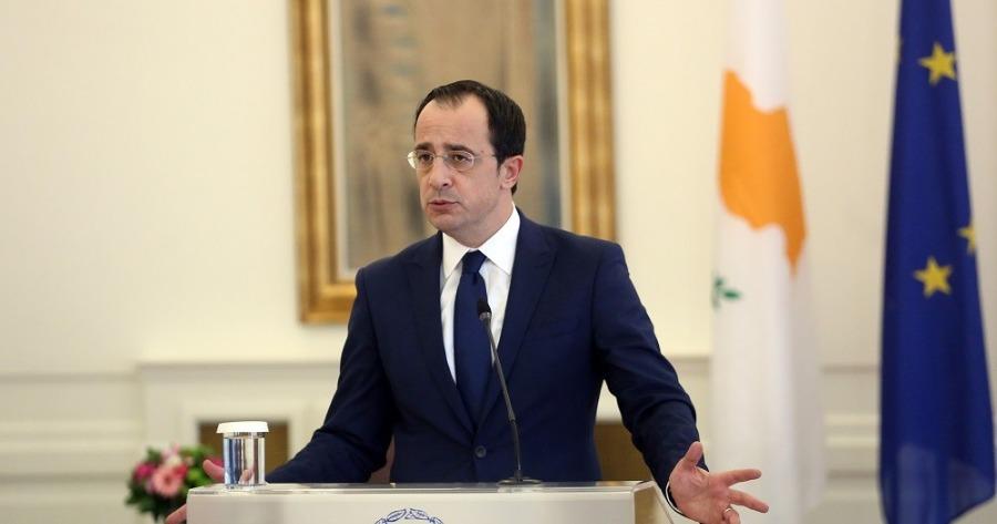Χριστοδουλίδης: «Δεν θα αποδεχθούμε άλλη μορφή λύσης του Κυπριακού»