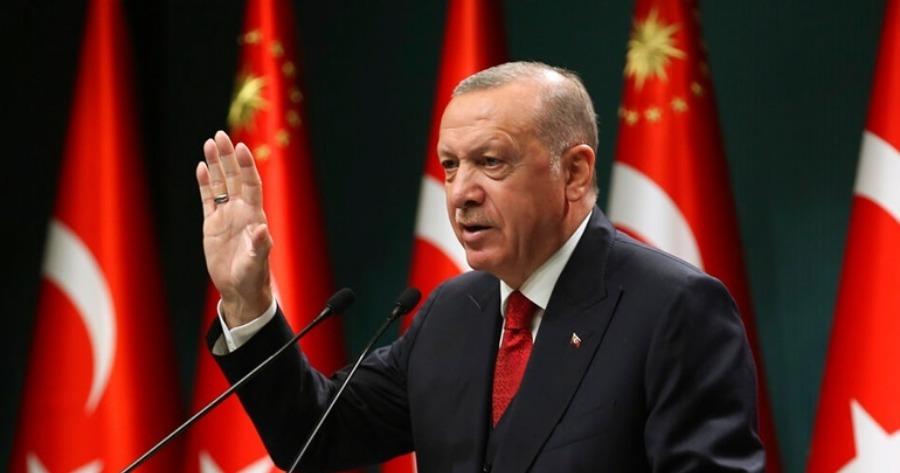 Ερντογάν: Προχώρησε σε αλλαγές στην επιτροπή νομισματικής πολιτικής