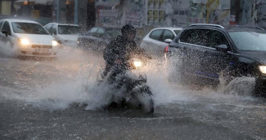 Meteo: Συνεχίζεται για 6η ημέρα σήμερα η κακοκαιρία - Ισχυρά φαινόμενα αναμένονται σε Αττική και Εύβοια