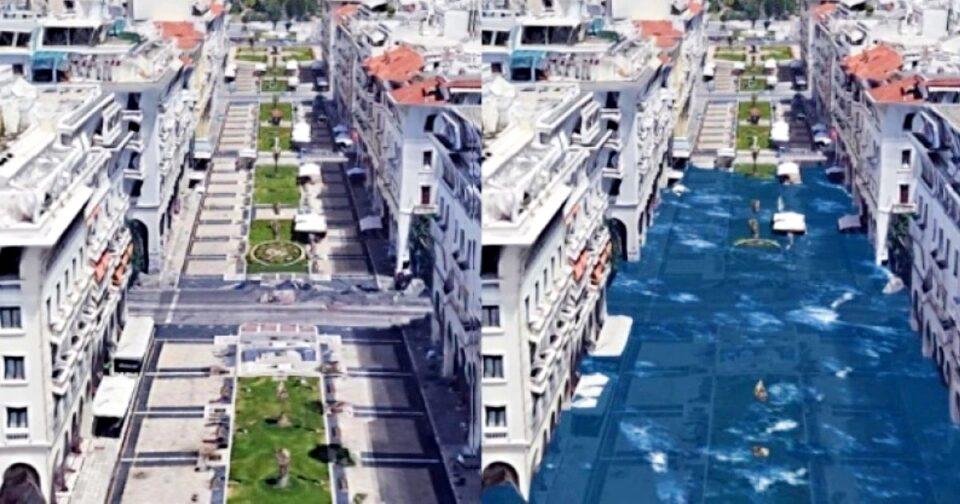Κλιματική αλλαγή πλημμύρες