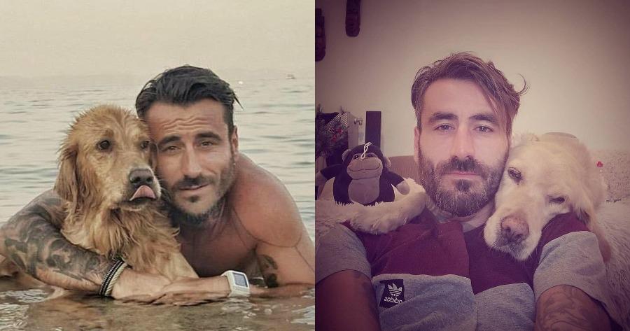 Ράκος ο Γιώργος Ματρίδης με τον θάνατο της σκυλίτσας του