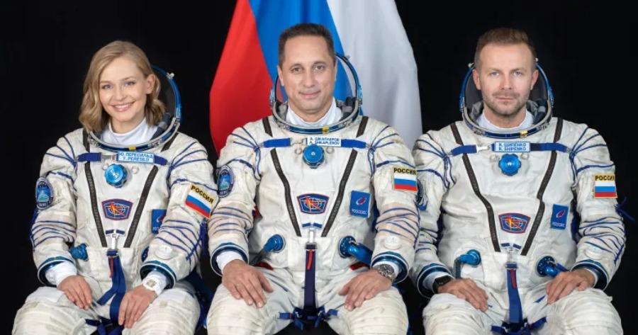 Ρωσία: Εκτόξευση διαστημοπλοίου με ηθοποιούς για την παραγωγή κινηματογραφικής ταινίας στο Διάστημα