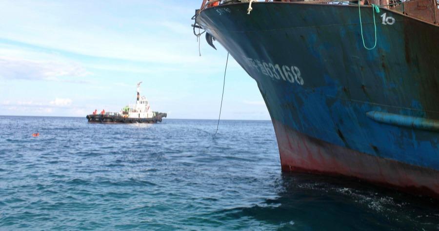 Σύγκρουση φορτηγού πλοίου με αλιευτικό ανοιχτά του Αγίου Ευστρατίου