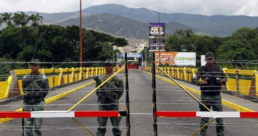 Βενεζουέλα: Κλειστά τα σύνορα με την Κολομβία παρά τις αναγγελίες περί του αντιθέτου